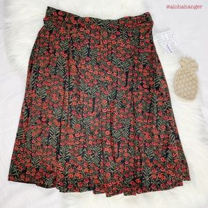 LuLaRoe NWT Elegant Floral Pocketed Madison Skirt!